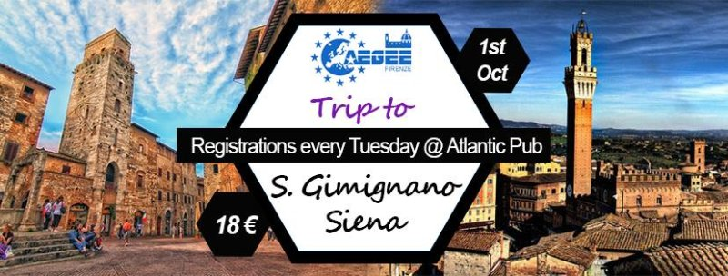 At the discovery of Tuscany: trip to San Gimignano and Siena