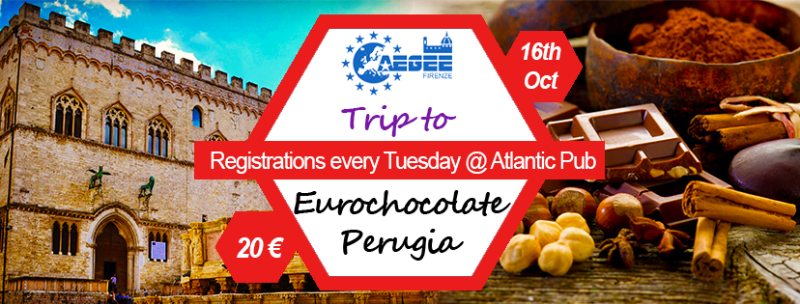 Trip to Perugia-Eurochocolate by AEGEE